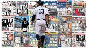 Alex Rodriguez Rules (the back pages) (NY Daily News)