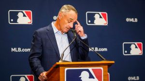 Rob Manfred feeling the Stress (Dallas Morning News)