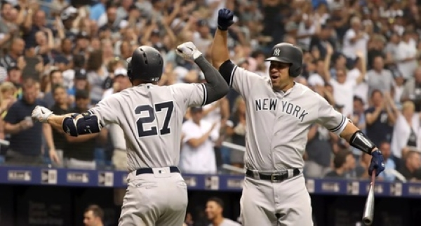 Yankees Giancarlo Stanton and Gary Sanchez - All too predictable