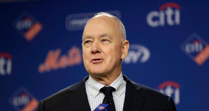 Sandy Alderson Rejoins The Mets (Seth Wenig/Associated Press)