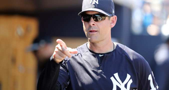 Aaron Boone - Yankees Manager (empiresportsmedia)
