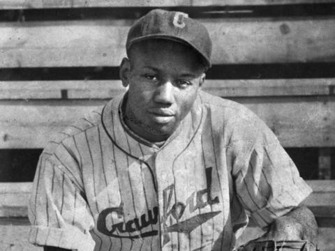 Josh Gibson, Official Hall of Fame portrait