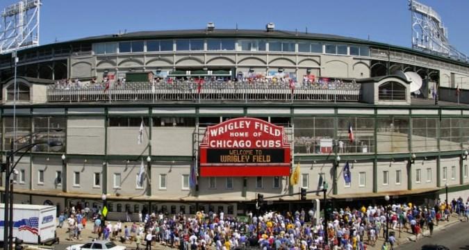Mets Invade Wrigley Field