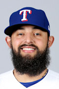 Rougned Odor, now minus the beard with the Yankees