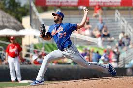 """Mets David Peterson """"figuring it out"""""""
