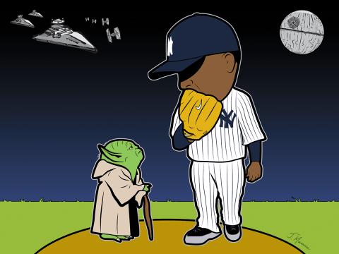 Yankees Cartoon 2021 Season
