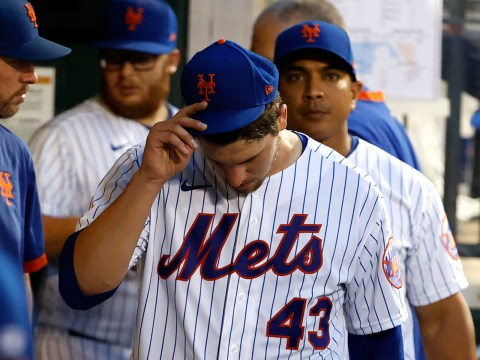 Mets Jerad Eickhoff takes one for the team