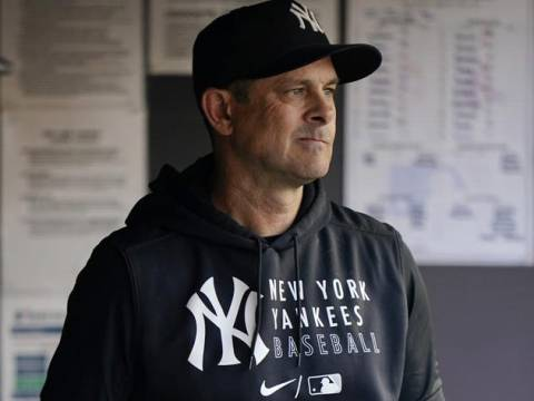 Yankees Manager Aaron Boone: It's Not His Fault