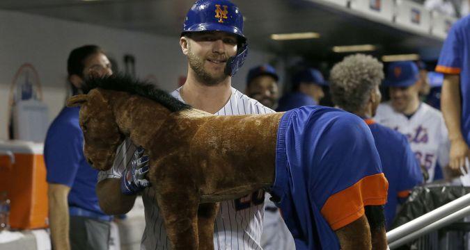 "Mets ""Home Run Horse"""