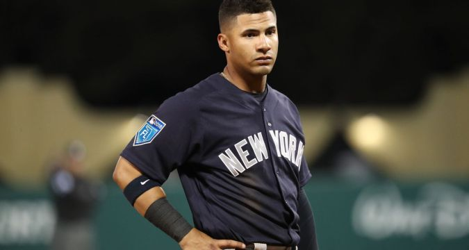 Yankees Gleyber Torres needs a breather (USA Today)