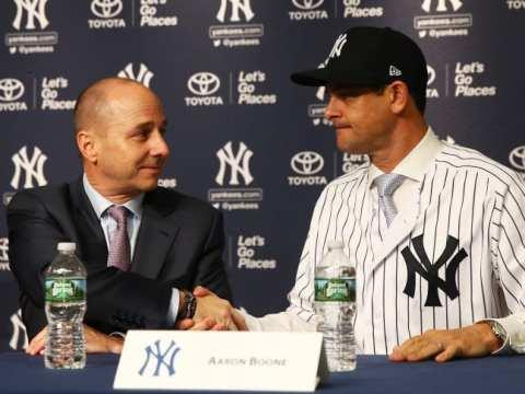 Yankees Brian Cashman and Aaron Boone - A Partnership?
