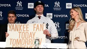 Yankees Gerrit Cole - Tonight Is Why He's Here