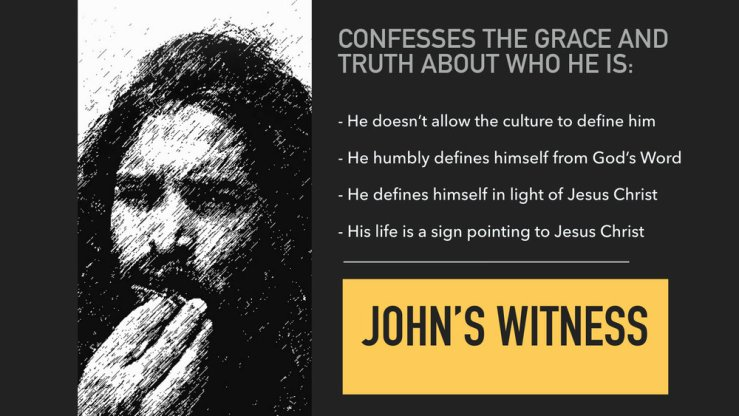 Image result for free photo of John 1:19-34