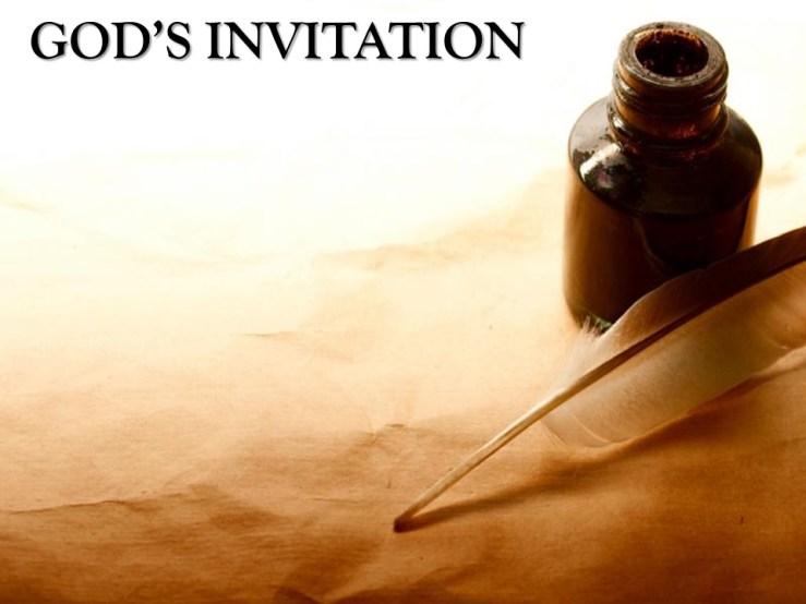 God's Invitation — Gore Baptist Church