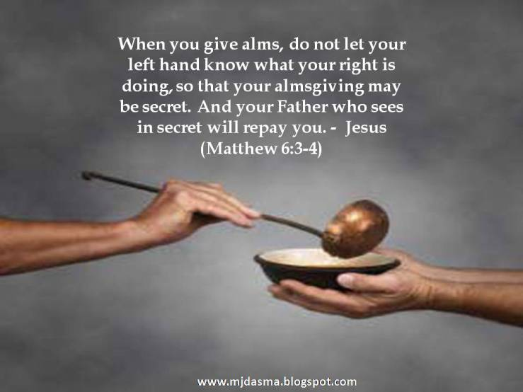 Image result for free photo of Matthew 6:1-6, 16-18