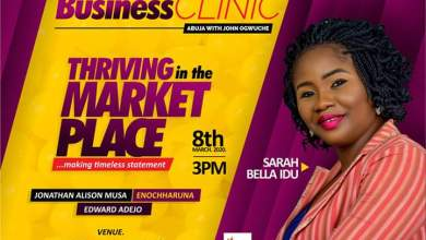 Principles of Thriving in the Market Place Exposed at the Business Clinic Abuja