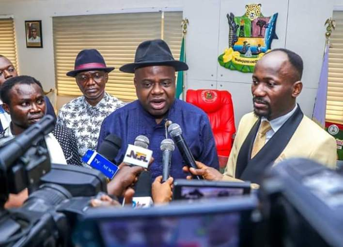 DIRI'S EMERGENCE, NEW DAWN FOR BAYELSA - APOSTLE SULEMAN