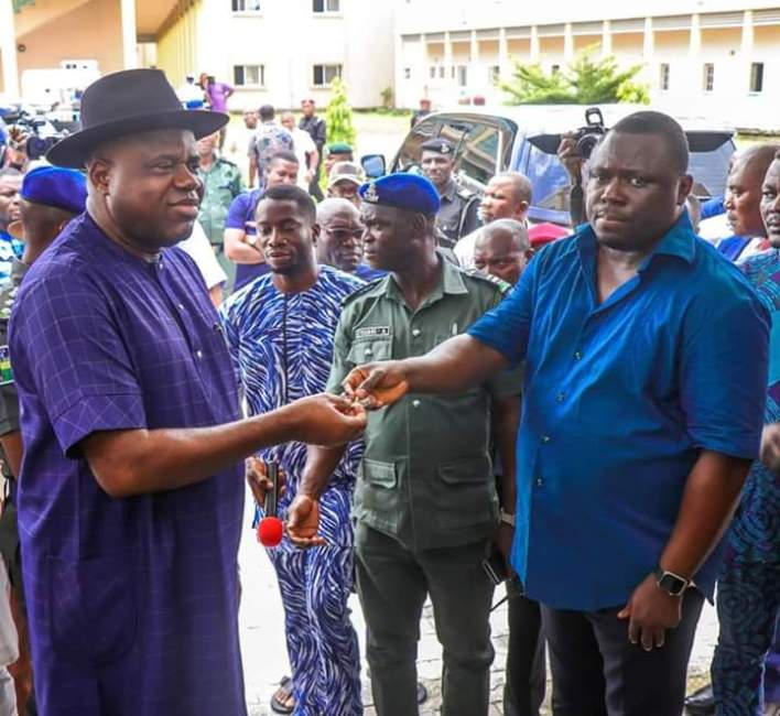 COVID-19: Gov. Diri Converts Newly-Built Referral Hospital To Isolation Centre
