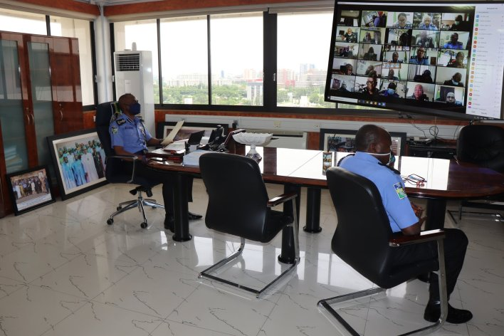 IGP holds first Virtual Conference with Strategic Managers of the Force