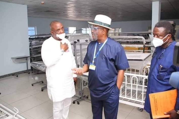 Covid-19 Will not Stall on-going Projects in Rivers, Says Governor Wike