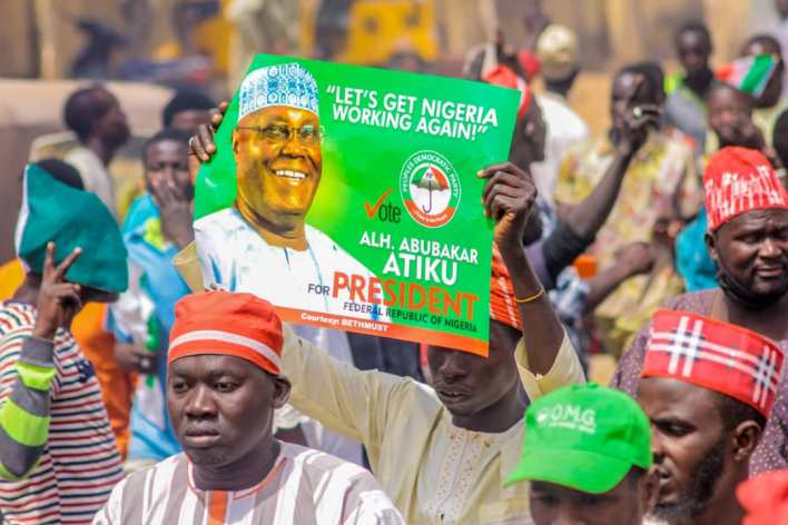 'They will suck you dry as they did in 2019', Nigerians react to Atiku's son statement