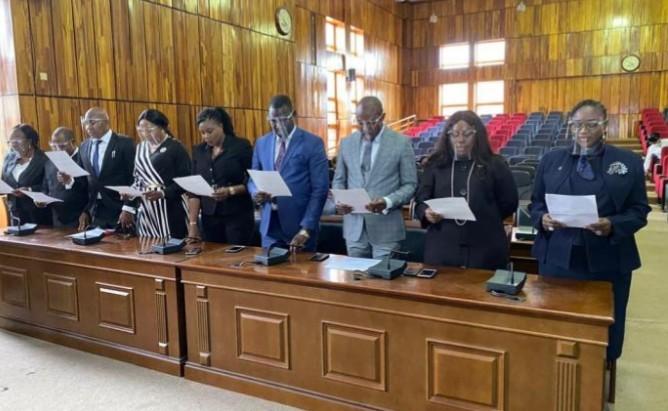 Hauwa Shekarau Leads the Unity Bar as she takes oath of office today