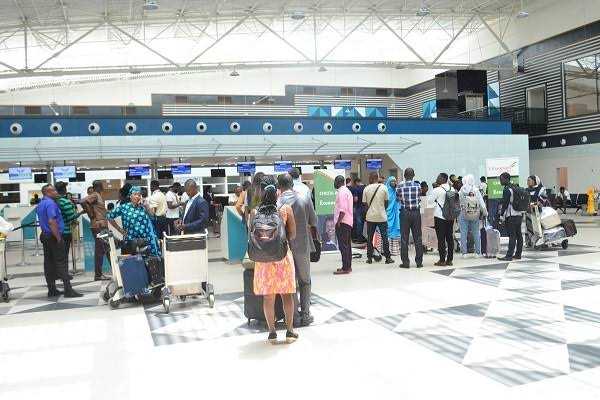 317 Nigerians Stranded In UK Arrive In Abuja