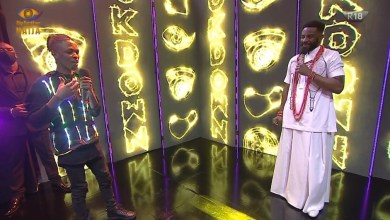 Big Brother Naija Season Five: See UNILAG Rapper, Laycon's Design Shirt