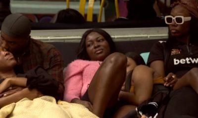 Neo Wrapped Under Vee's Blanket, Is He giving it to her? #BBNaijaLockdown