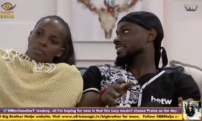 Hear What Lucy, HoH told Prince, DHoH at lodge #BBNaija
