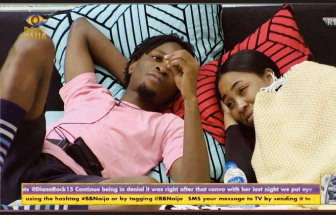 Erica Looks Away From Kiddwaya, Targets Laycon as Partner #BBNaija