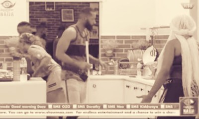 Lucy, HoH in the Eyes of the Storm, Exchange Banter With Tochi #BBNaija