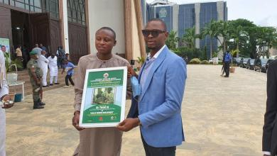 Youth Group Bestows Award of Excellence as 'Icon of Women Empowerment' on Dr. Yusuf JS