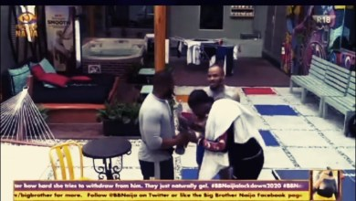 See How Neo Received, Presented the Flowers for Vee, #BBNaija [Video]