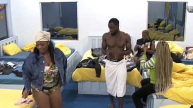 Lucy, Praise Takes Over Dance Floor With Her Pant Gown Dressed #BBNaija [Video]