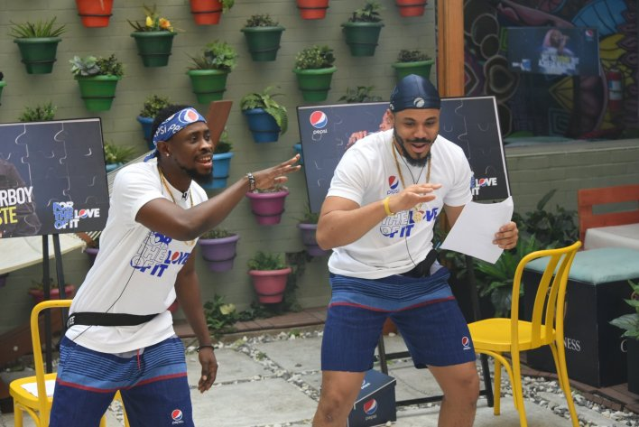 'It's a lie', Trikytee Reaction as Winner of Pepsi Challenge #BBNaija [Video]