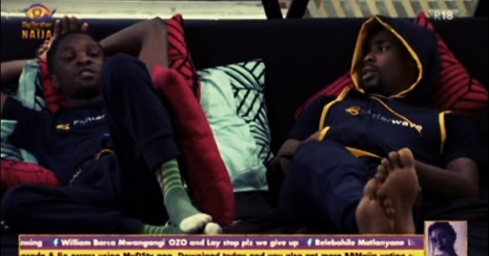Vee: Laycon, Ozo Console Neo, Urges Him to Quit Worrying [Video] #BBNaija