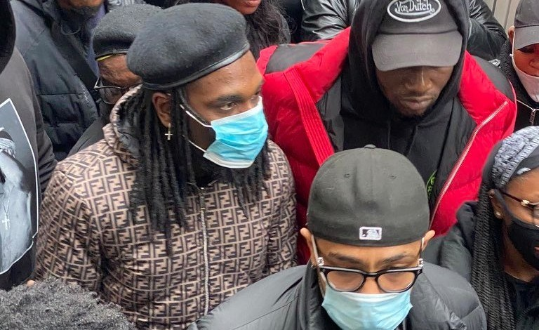Photo of EndSARS: Burnaboy Spotted in London Protest [Video]