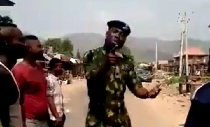 #EndSARS Protest: Nigerian Soldier Call For Peaceful Dialogue [Video]