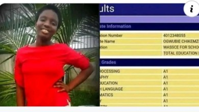 #WASSCE2020: Choba-Born, Ogwubie Praise Receives Commendations for Making A1s in All Subjects