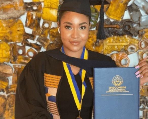 Bayelsa-born, Beauty Quuen Anna Banner Celebrates Graduation in Ghana 2012 Most Beautiful Girl in Nigeria