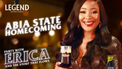 Erica Plans Homecoming Tour To Abia With Legend Beer