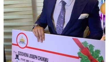 BBNaija Ozo gets N5 Million to Celebrate Christmas from Fans [Video]