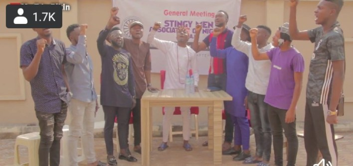 Mc EdoPikin Leads Stingy Men in Edo Listen to Their Anthem [Video]