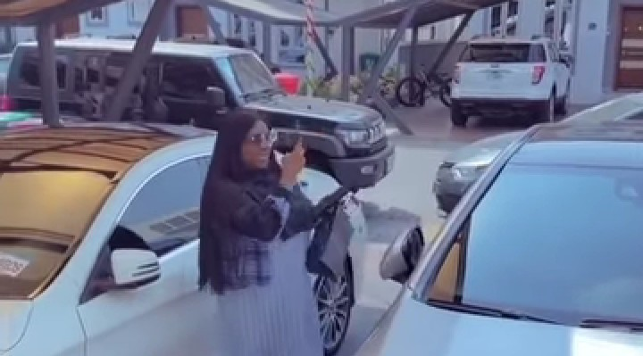 Dorathy Visits Mercy Eke But Didn't Find A Parking Space [Video]