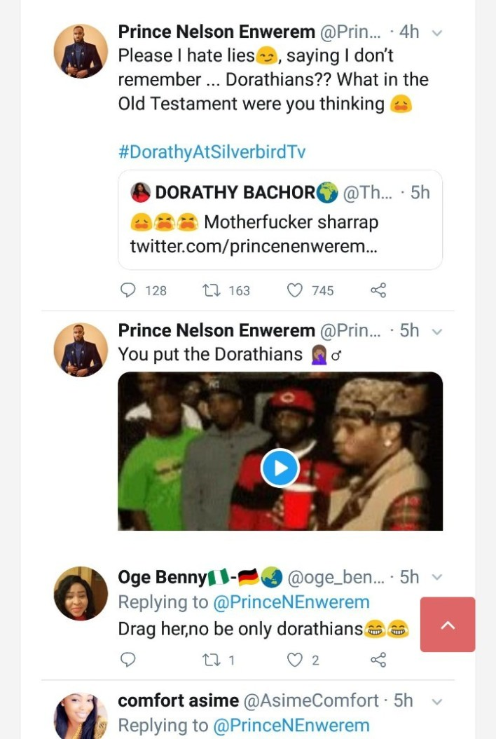 Prince Drags Dorathy on Twitter Over Her New Name