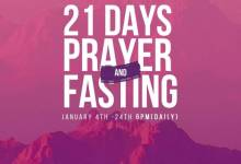 Photo of Winners Chapel 21 Days Fasting And Prayer 19th January 2021 Points Day 16