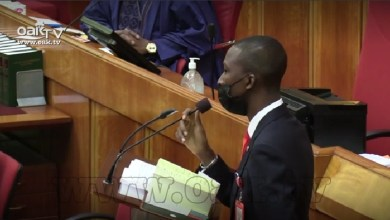 Listen Abdulrasheed Bawa, EFCC Chairman Speech at Senate [Video]