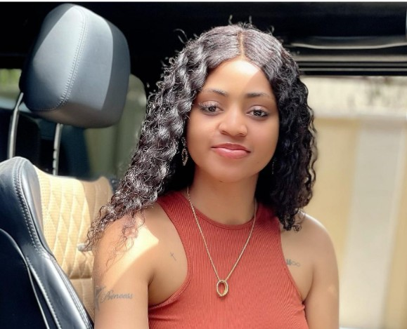 Regina Daniels' Step Daughter Says 'You are the Best, I Love You'