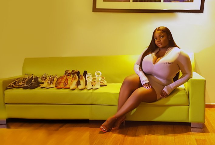 Ka3na Jones Congratulate Dorathy on Her Shoe Collection